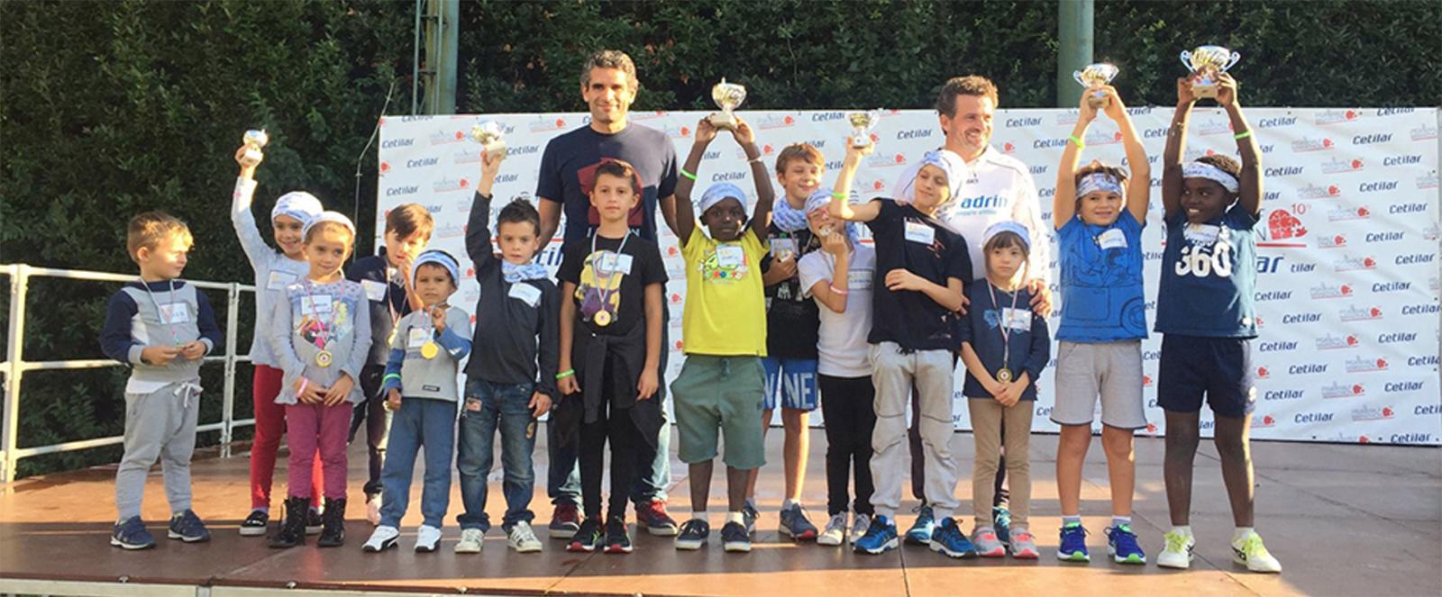 Junia Pharma at the Pisa Half Marathon: today's kids, tomorrow's champions