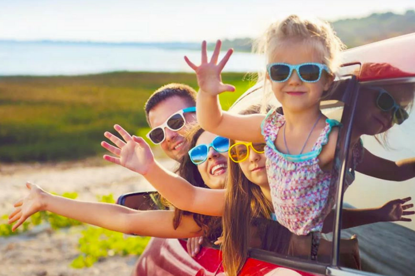 Travelling with children: tips for avoiding stress and setting out peacefully
