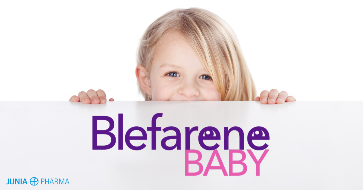 (IT) Junia Pharma lancia sul mercato Blefarene Baby