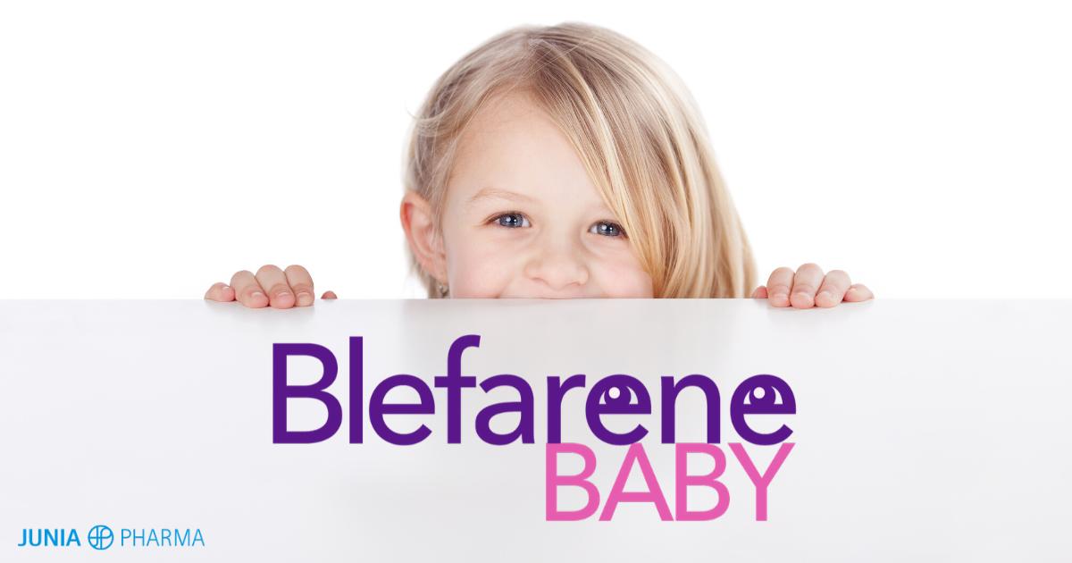 junia pharma lancia blefarene baby
